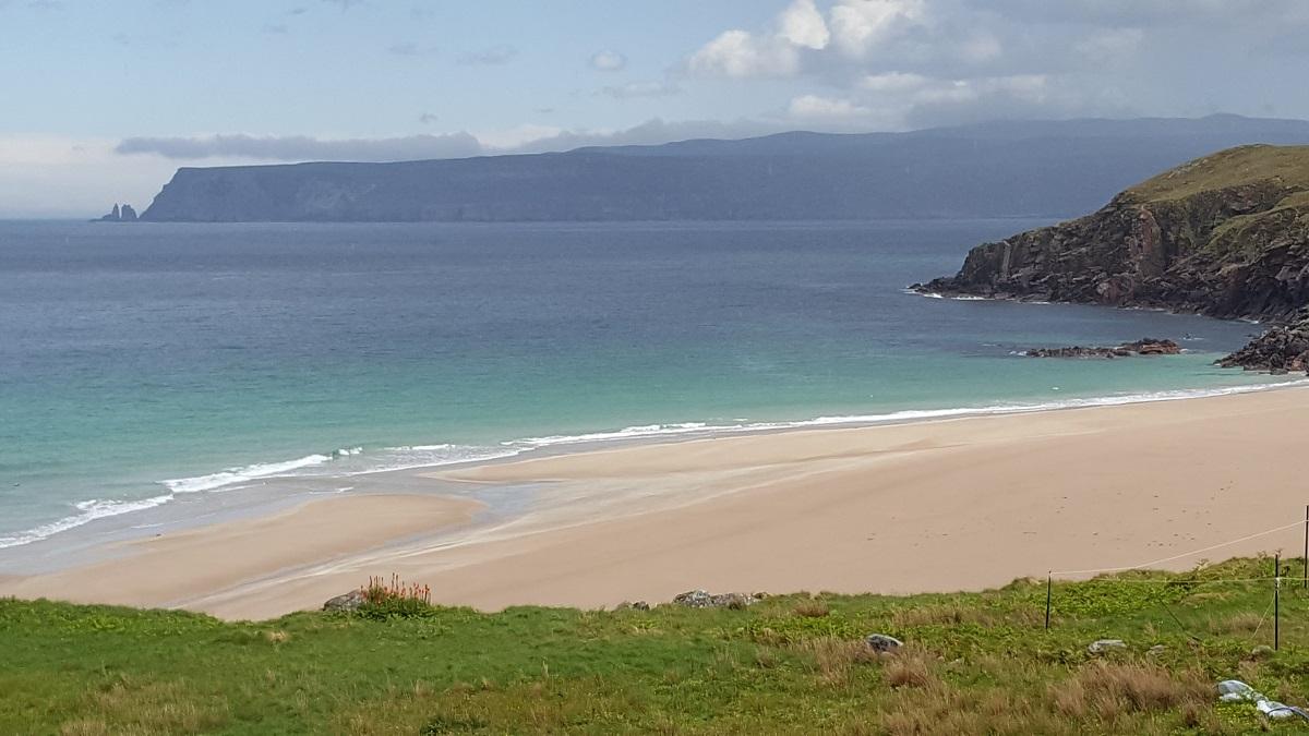 Paysage plage ecosse
