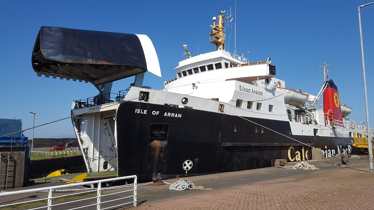 Ile d'Arran ferry Ecosse