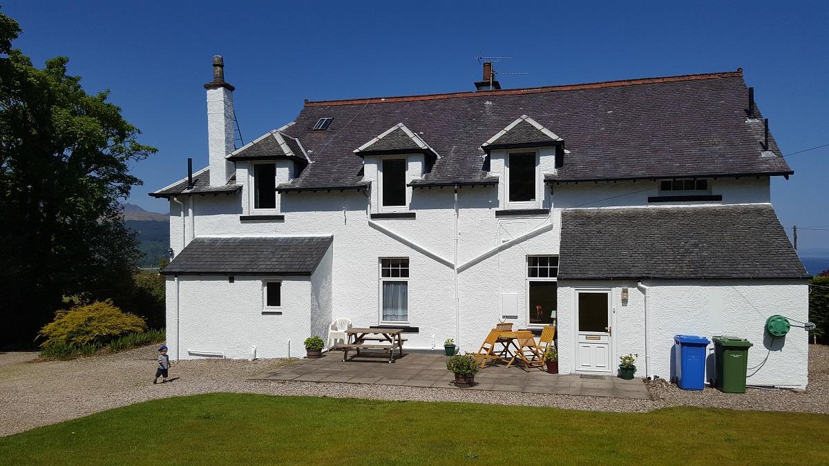 Maison ecossaise randonnee