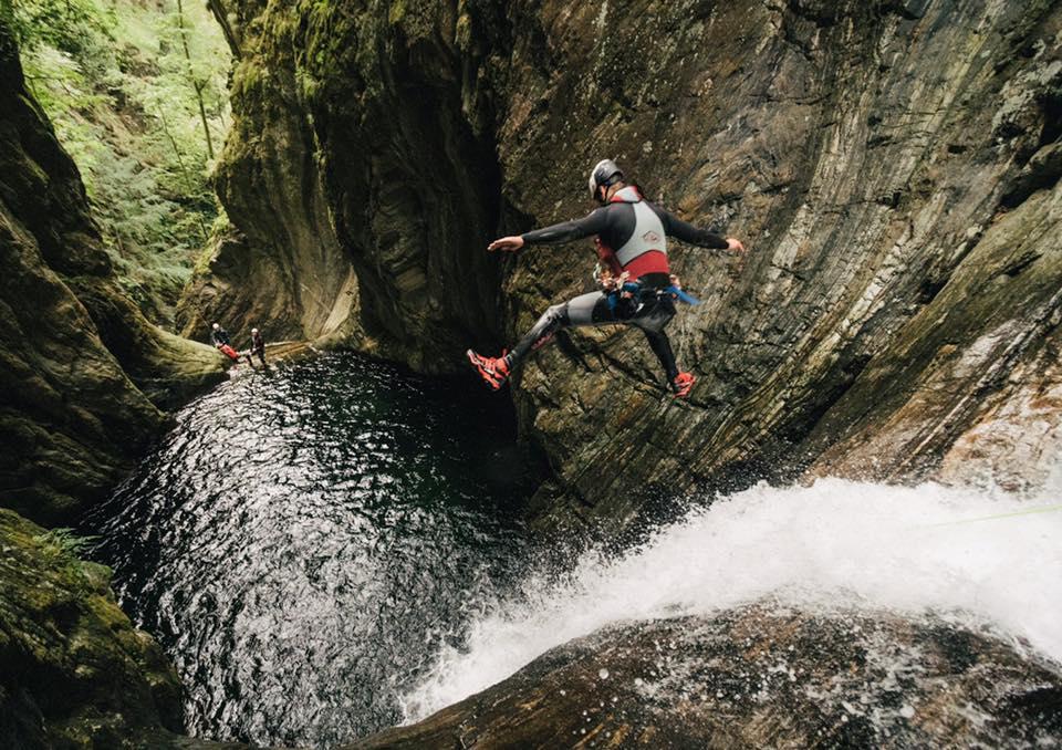 Canyoning Ecosse