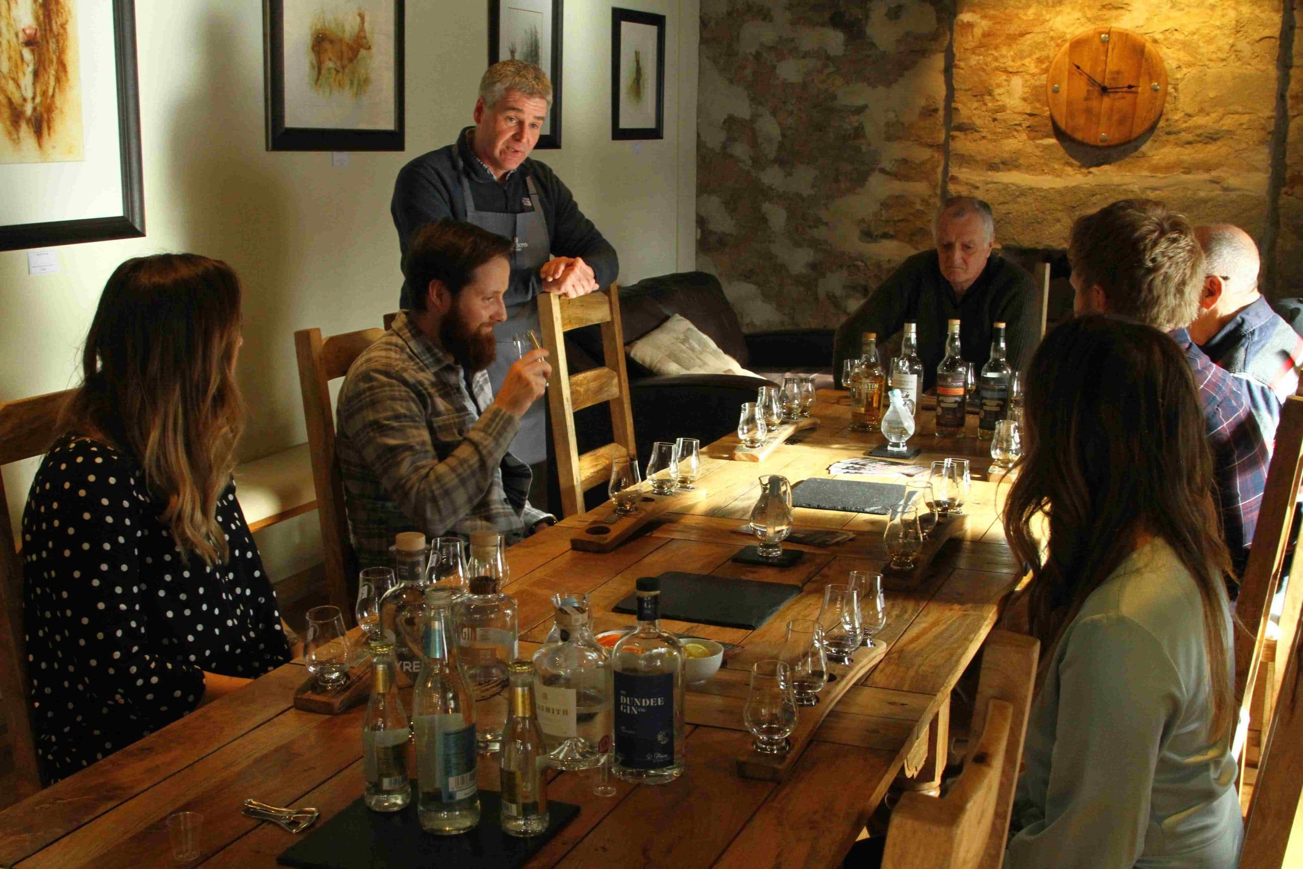 Dégustation Whisky en Ecosse