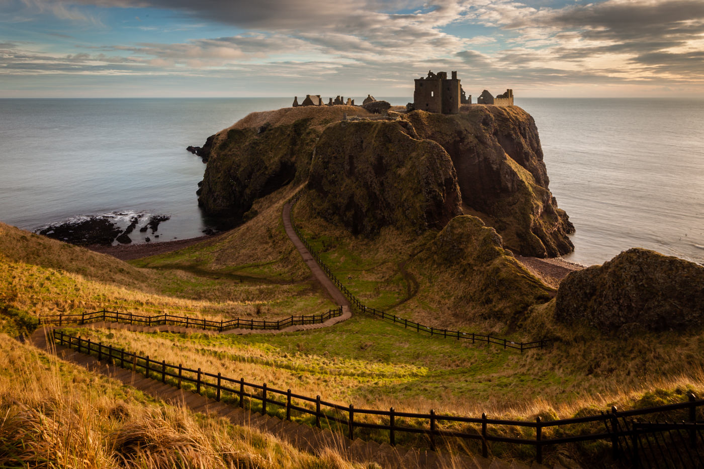 Chateau Dunnottar Ecosse