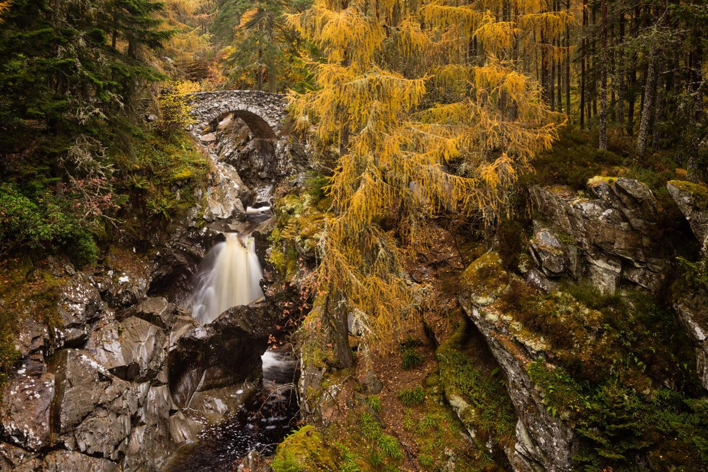 Falls of Bruar Ecosse