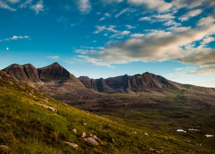 Liathach from the north Randonnee Ecosse