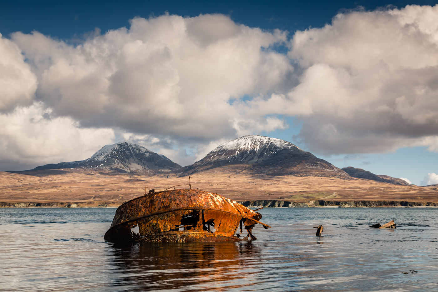 Paps of Jura from Islay