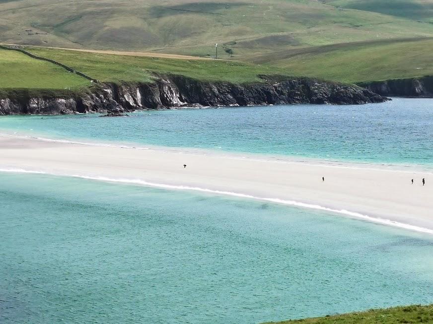 St Ninian beach